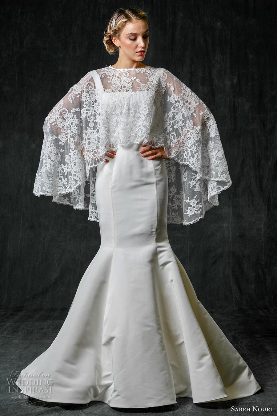 Sareh Nouri Fall 2017 Wedding Dresses Wedding Inspirasi