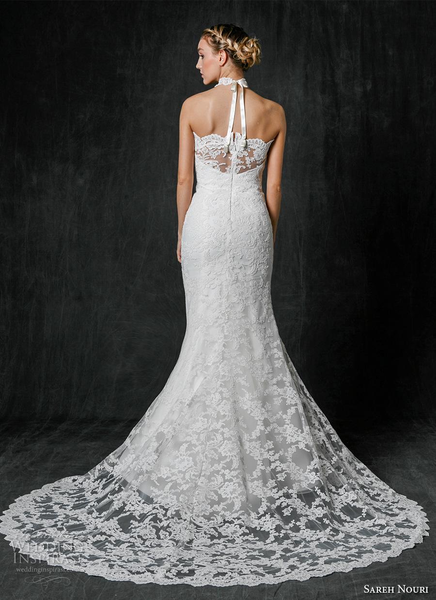 Sareh nouri fall 2017 wedding dresses wedding inspirasi for Choker neck wedding dress