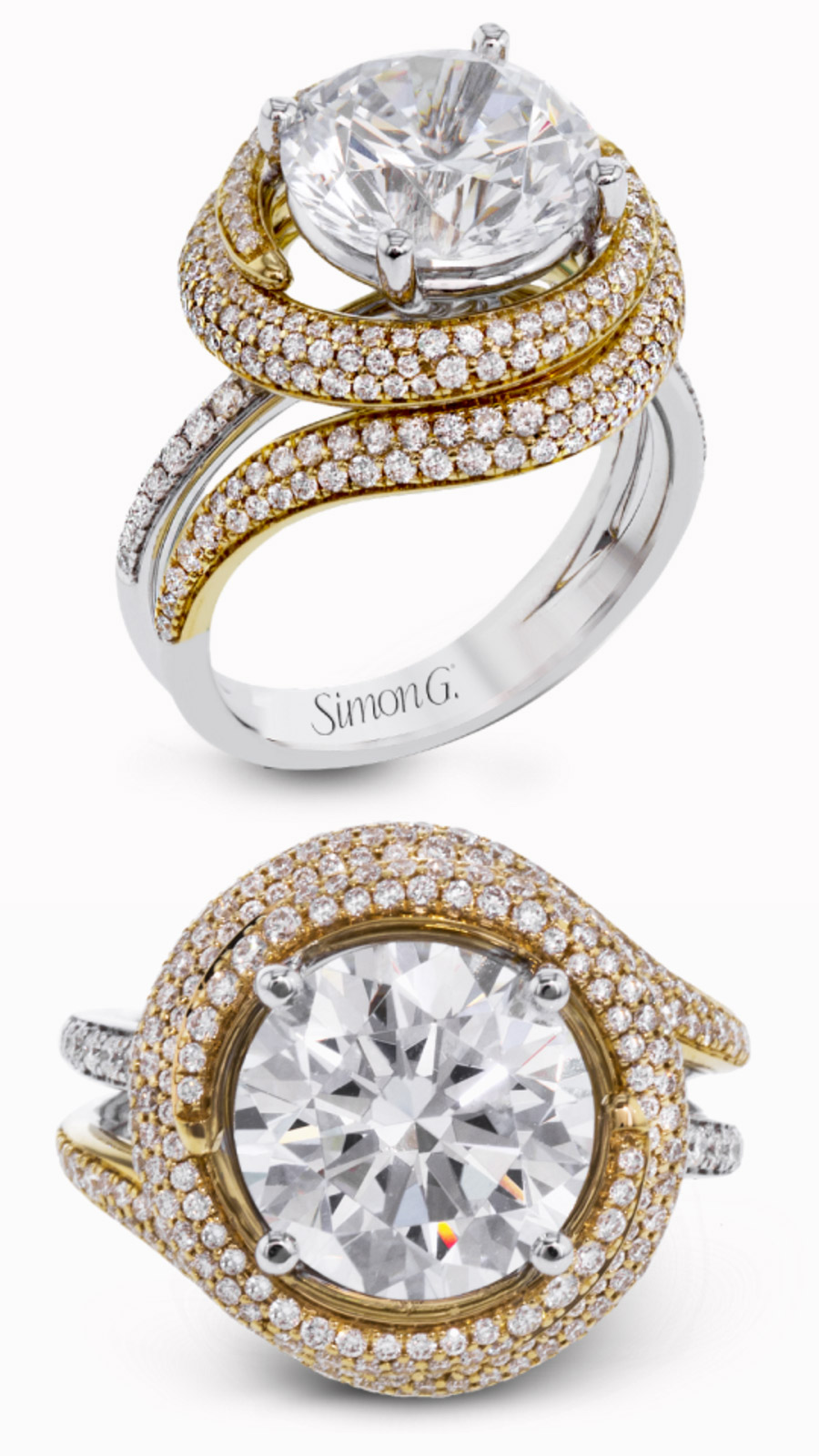 ring durbin engagement solitaire in shop diamond shaya rings karat organic gold
