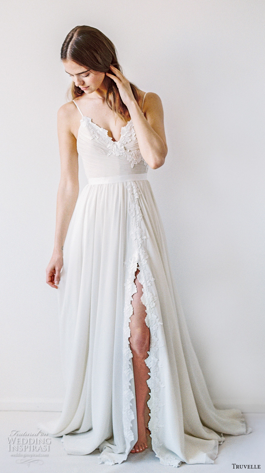Modified A Line Wedding Dress