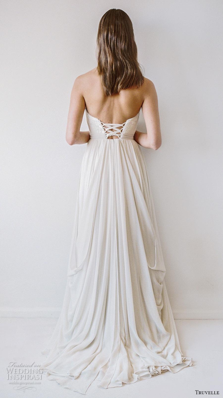 Truvelle 2017 wedding dresses wedding inspirasi for Strapless bustier for wedding dress