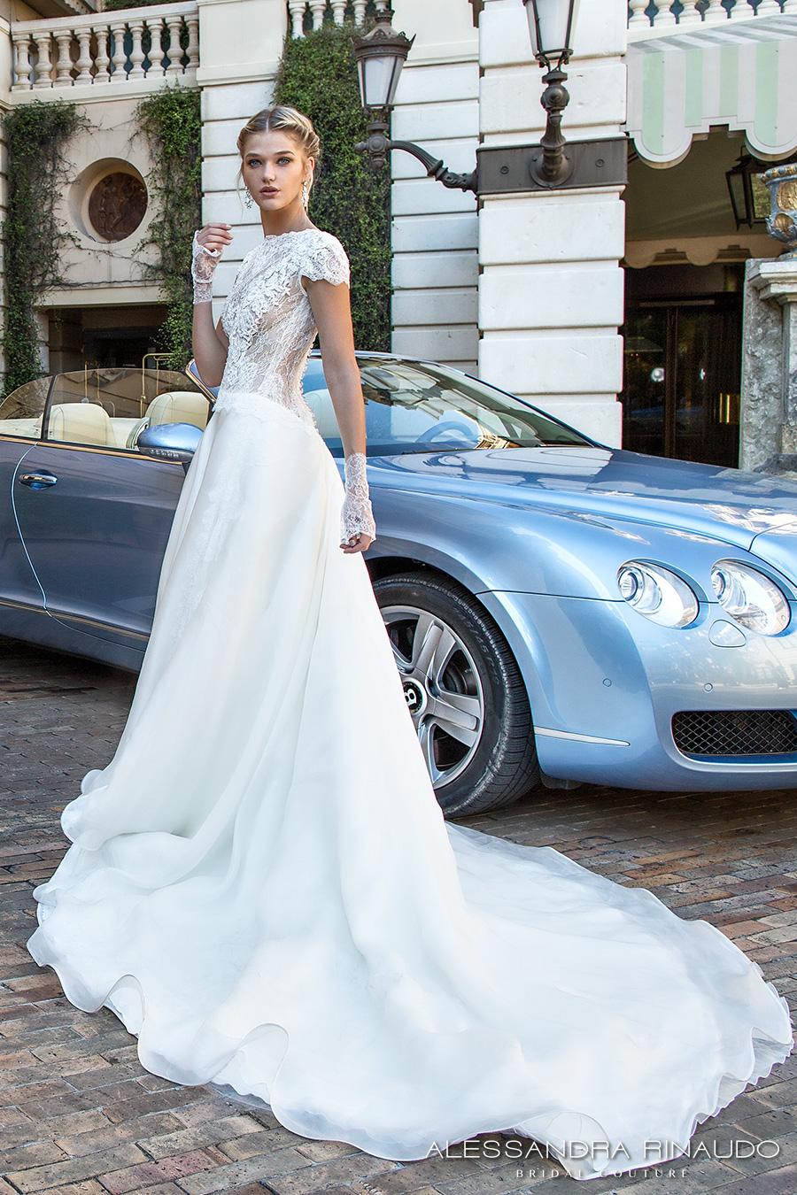 Alessandra Rinaudo 2017 Wedding Dresses Gorgeous Italian Bridal Couture Wedding Inspirasi
