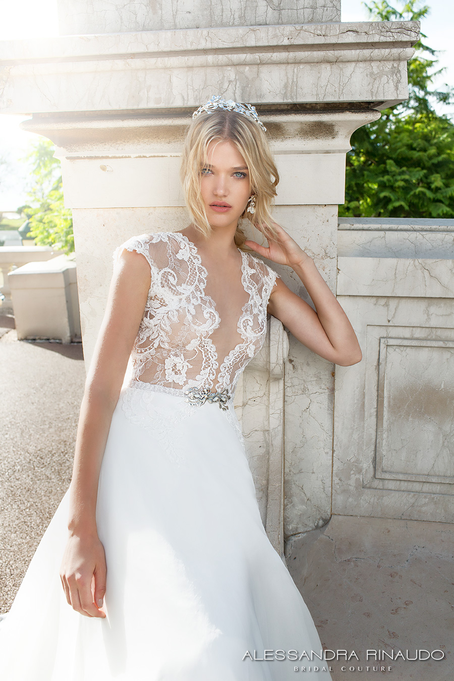 Lace Wedding Dress With Train