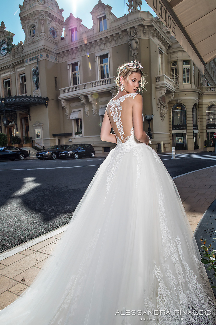 64aedf6932 alessandra rinaudo 2017 bridal cap sleeves lace strap sweetheart neckline  heavily embellished bodice princess ball gown