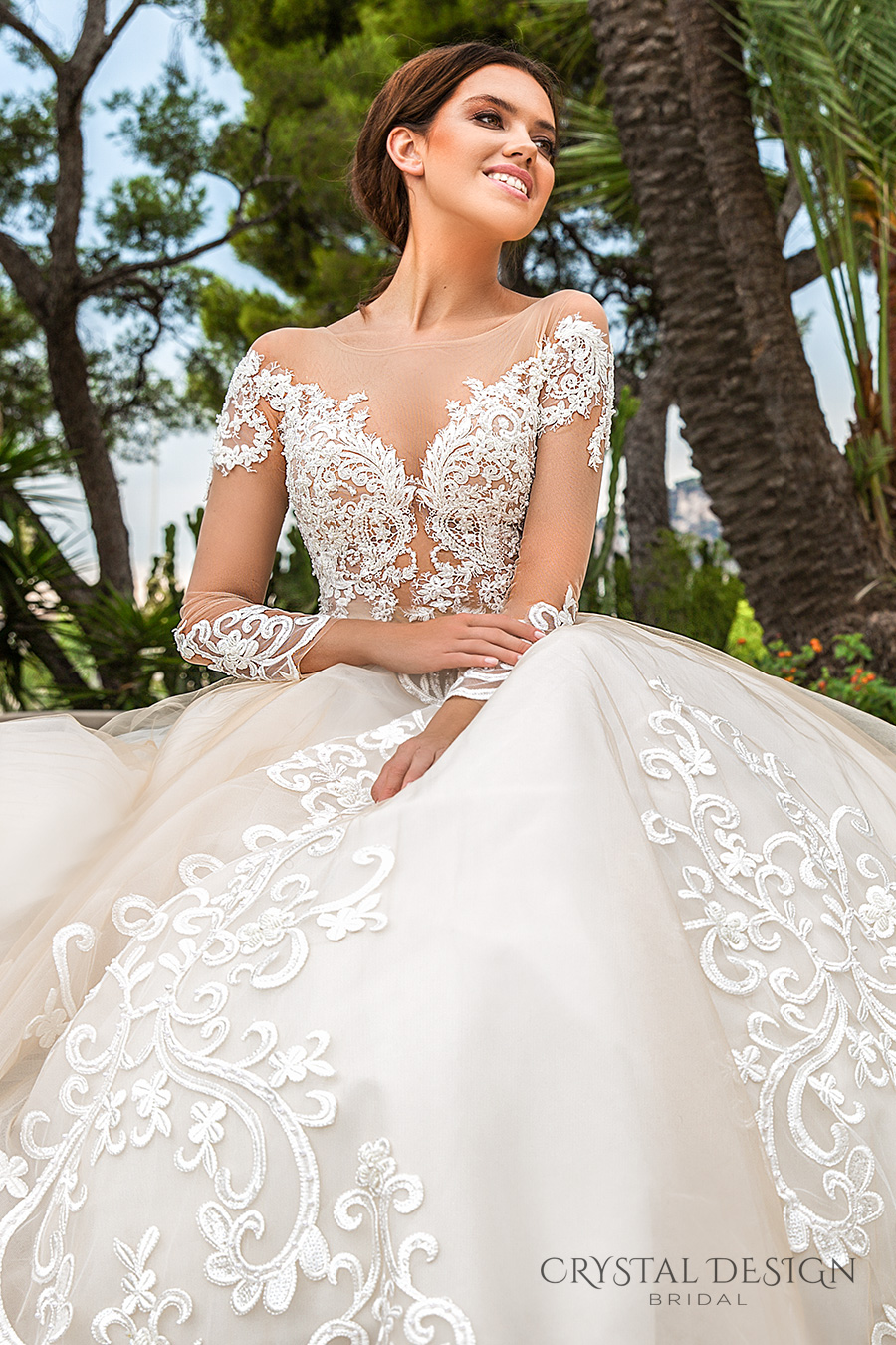 Wedding Gowns With Designs : Crystal design wedding dresses haute couture bridal