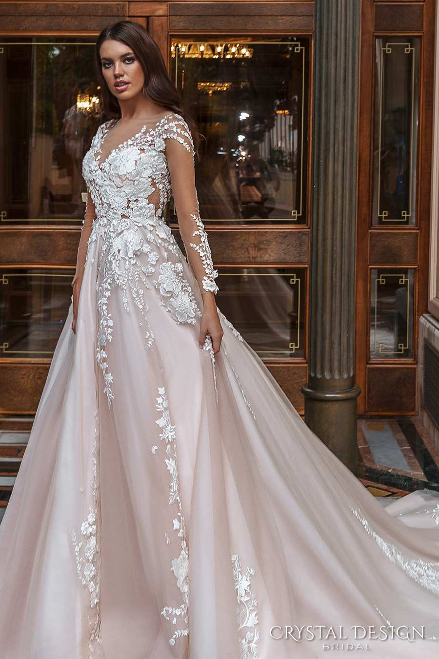 Crystal Design 2017 Wedding Dresses Haute Couture Bridal