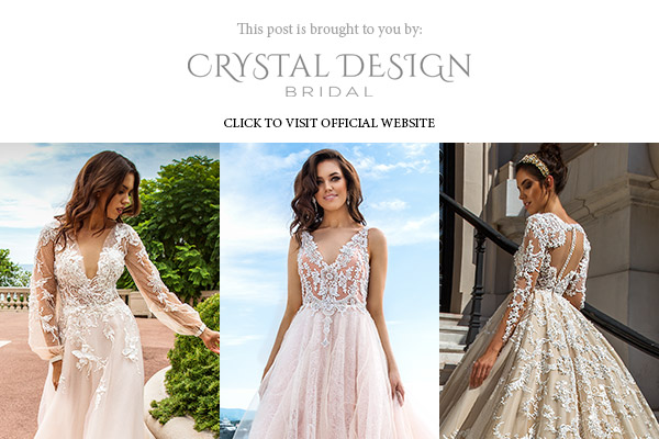 crystal design 2017 haute couture bridal collection monaco gorgeous lace gown sponsor