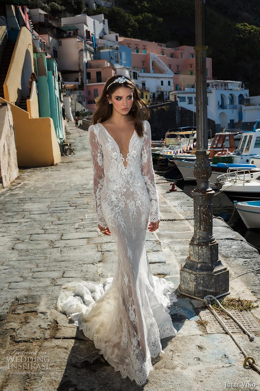Sexy Long Sleeve Wedding Dresses 86 Inspirational julie vino fall bridal