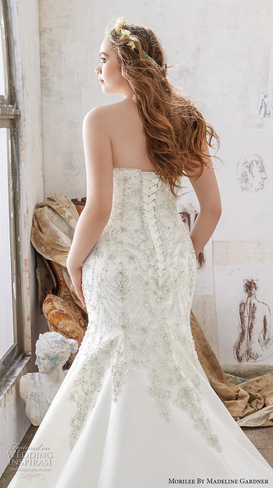 Morilee by madeline gardner spring 2017 wedding dresses for Fitted wedding dresses for plus size