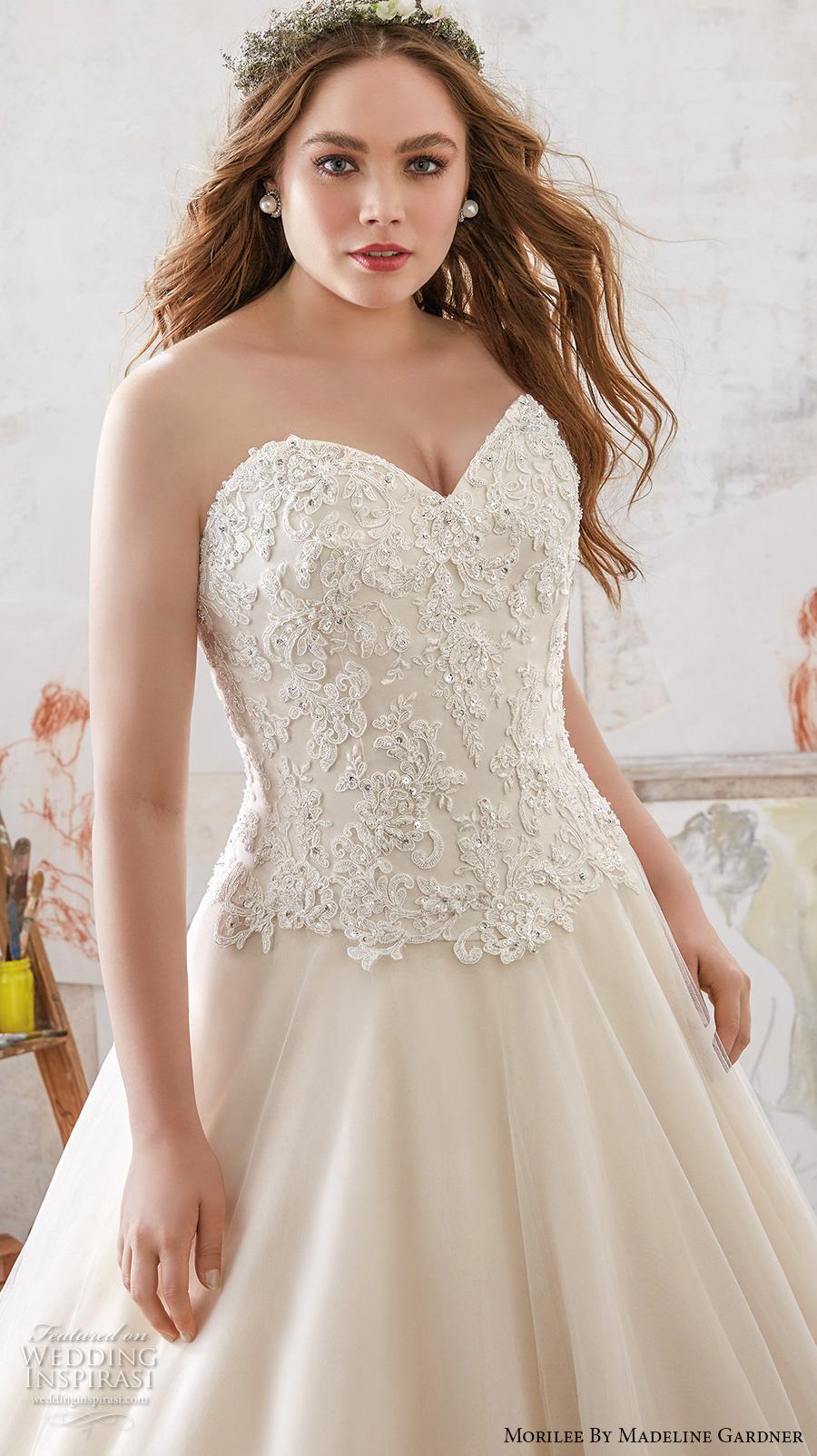Plus Size Mermaid Wedding Dress 73 Superb morilee julietta spring bridal