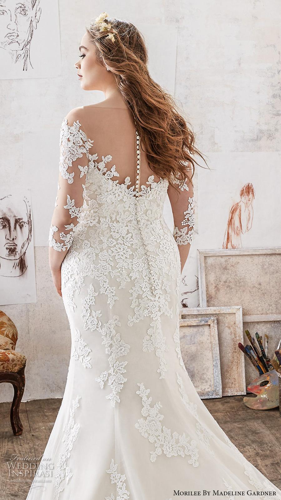 Plus Size Mermaid Wedding Gowns 14 Lovely morilee julietta spring bridal