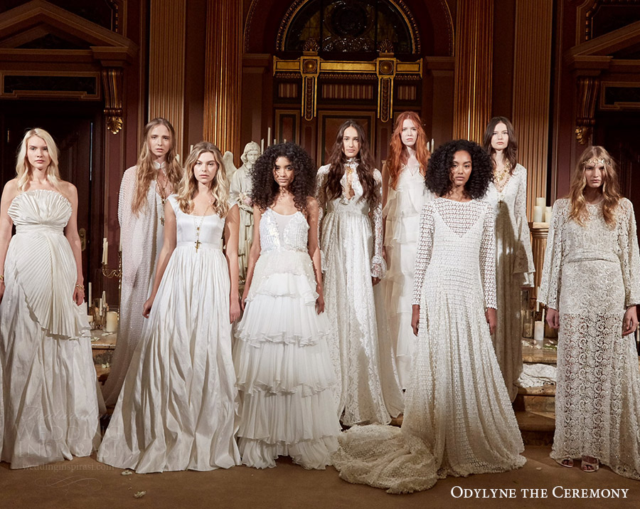 9a8182f8f80 odylyne the ceremony fall 2017 new york bridal fashion week collection  lineup wedding dresses