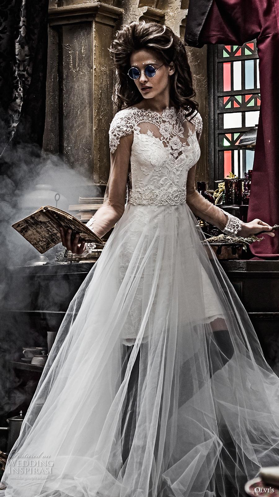 Chapel Train Wedding Dresses 99 Epic olvis couture bridal cap