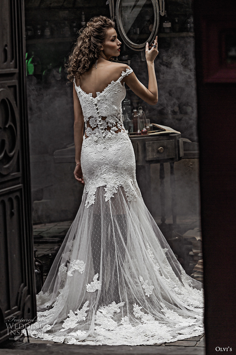 Luxury Lace Wedding Dresses 47 Simple olvis couture bridal off