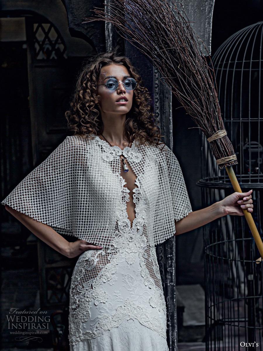Wedding Gown With Bolero 39 Popular olvis couture bridal sleeveless