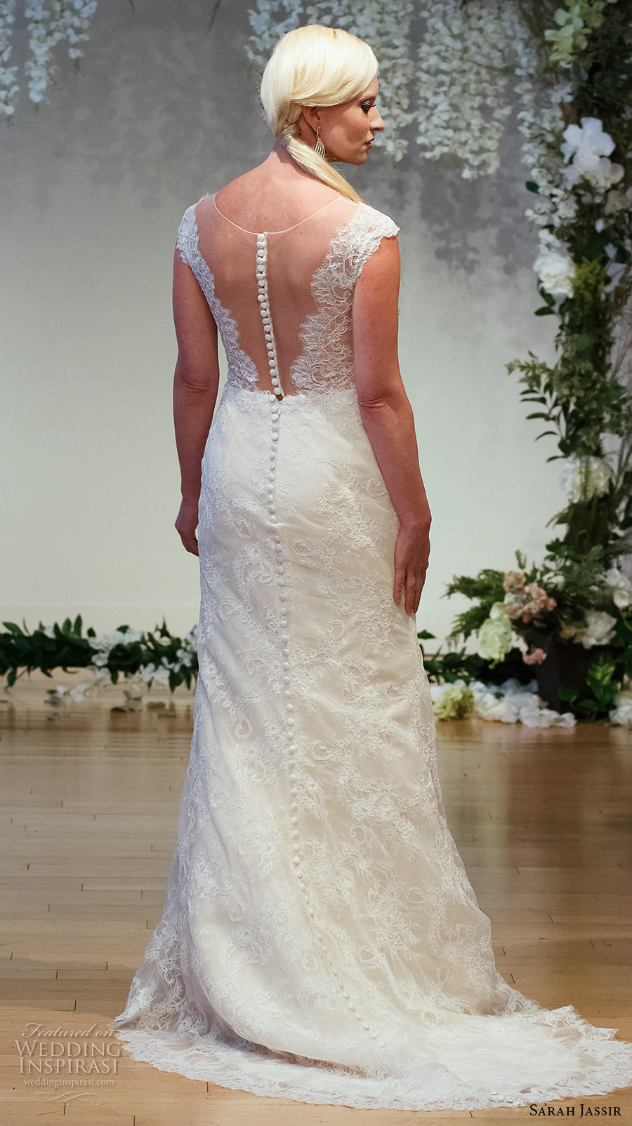 Elegant Sexy Wedding Dresses 45 Amazing sarah jassir bridal cap