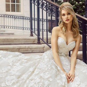 val stefani spring 2017 bridal wedding inspirasi featured collection dresses gowns