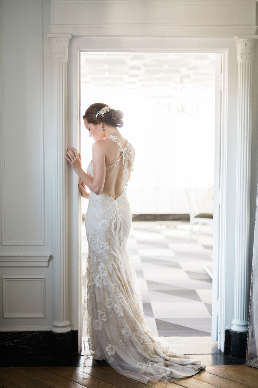 bel aire bridal accessories headpiece jennifer fujikawa photography 2016 chloe mint styled wedding shoot bv