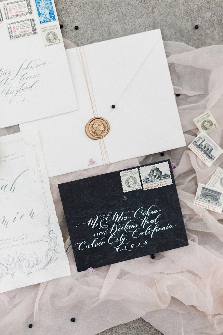 bel aire bridal accessories seniman calligraphy jen fu photography 2016 chloe mint styled shoot mv