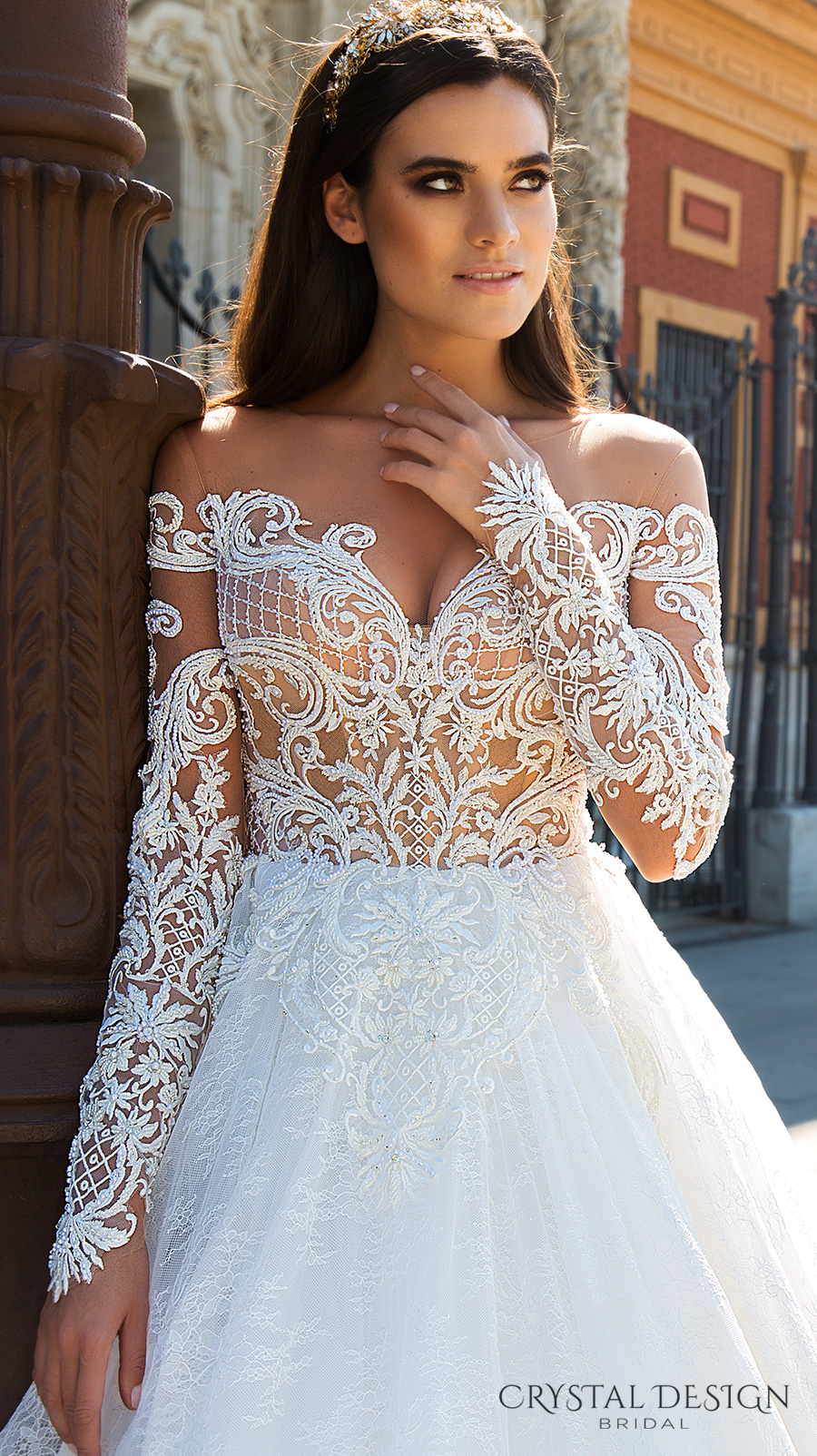 f7ebf51a601ed Beautiful Wedding Dresses from the 2017 Crystal Design Collection ...