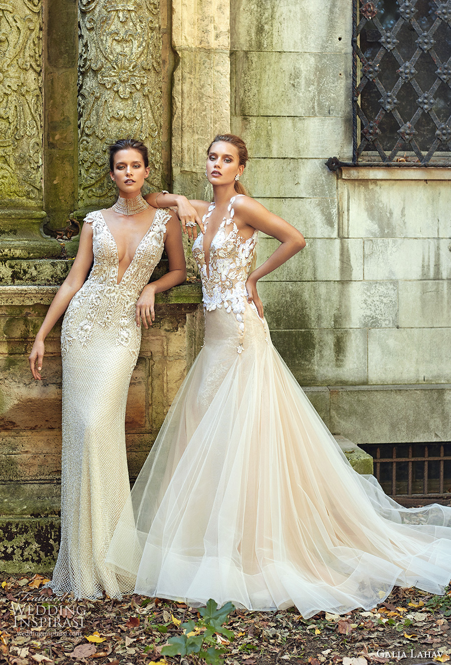 galia lahav fall 2017 bridal collection summerbella gown and lauren gown