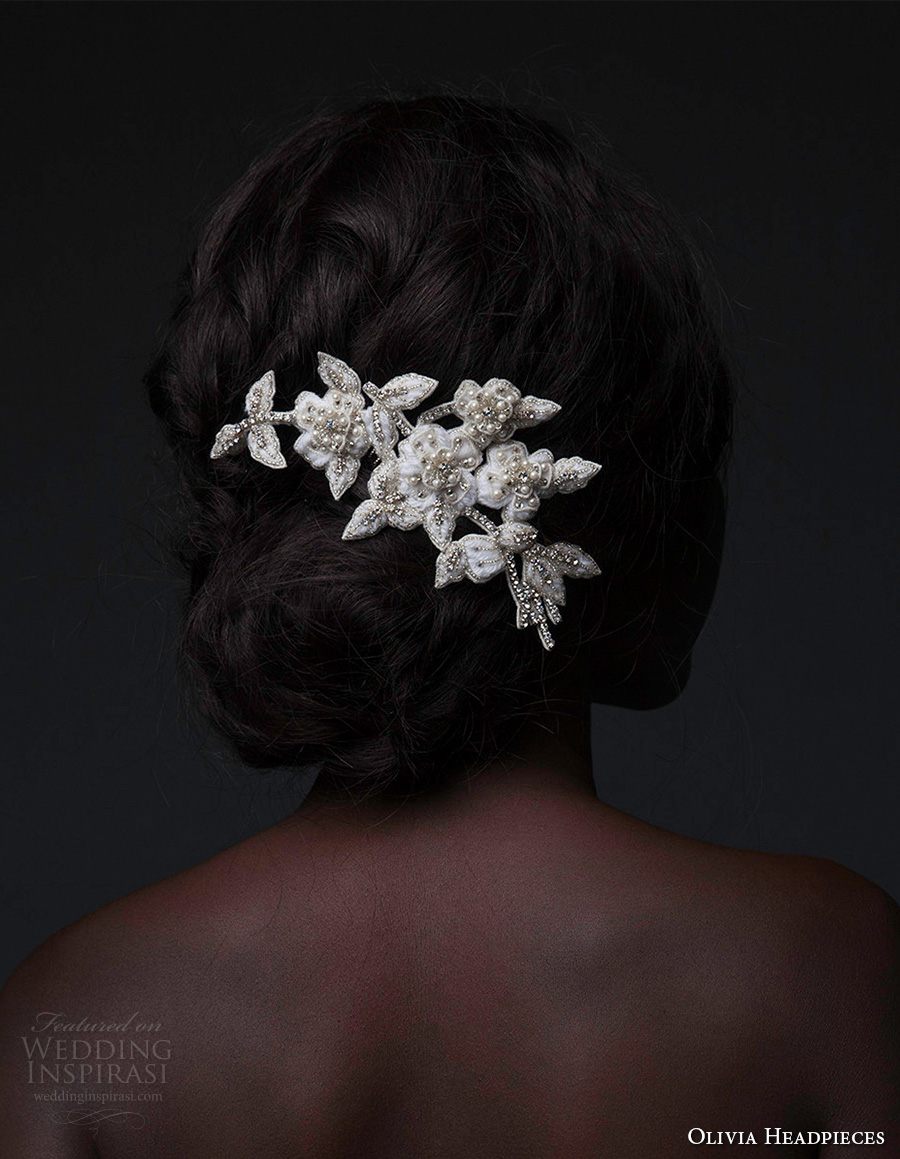 olivia headpieces fall 2016 comb beaded crystals pearls (blooms and blooms) mv