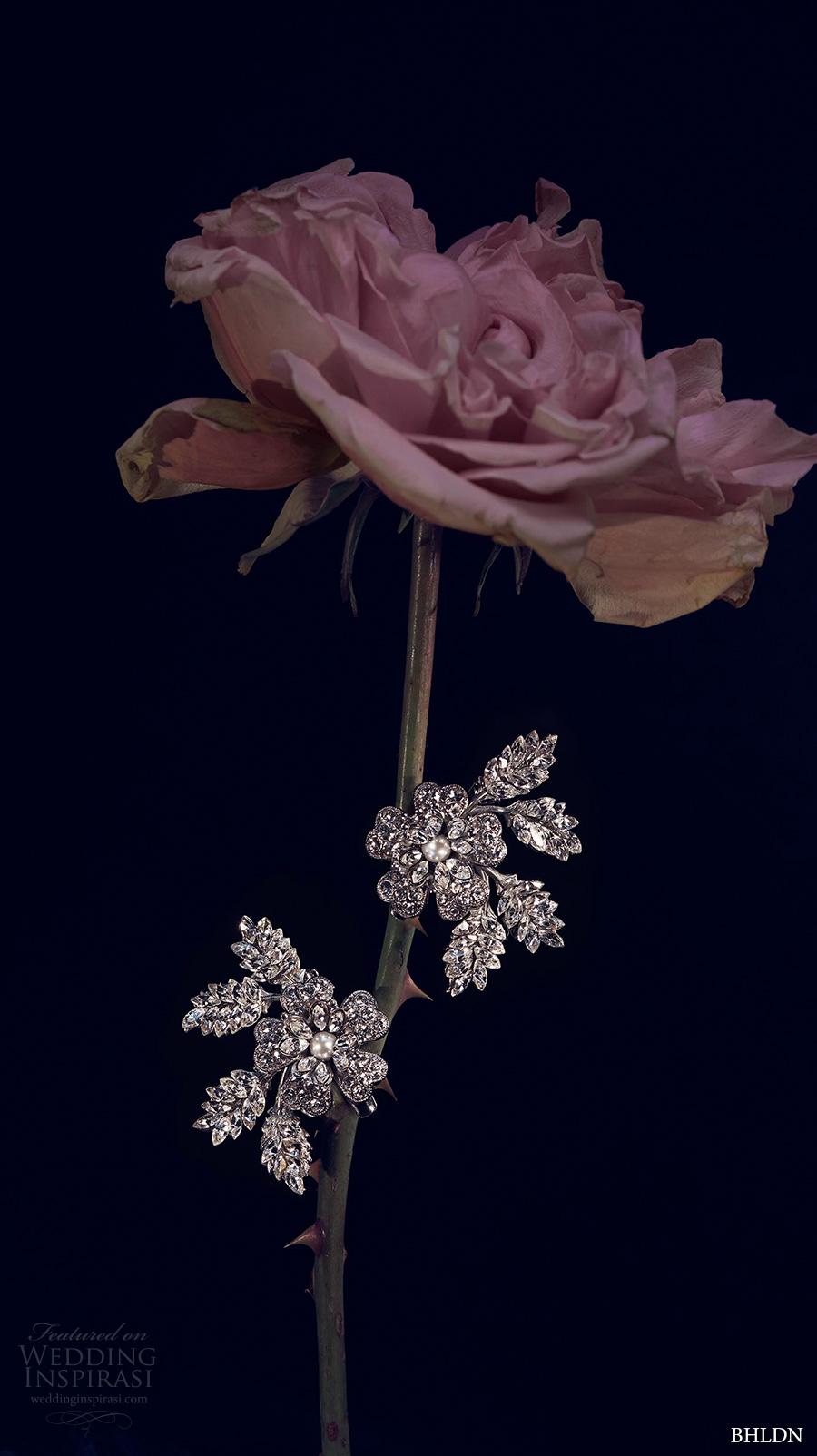 bhldn spring 2017 bridal wedding acessories crystal hair clips (petunia) mv