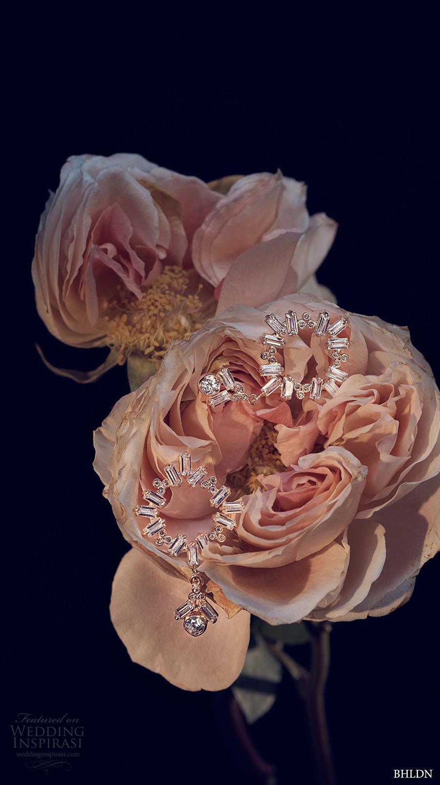 bhldn spring 2017 bridal wedding acessories jewelry earrings (dangling circlet) mv