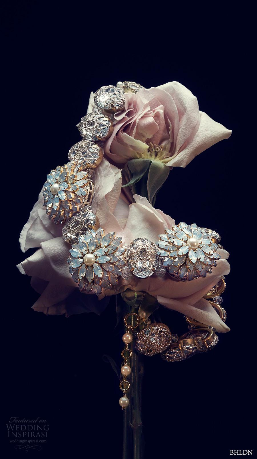 bhldn spring 2017 bridal wedding acessories necklace (opal blossom) mv