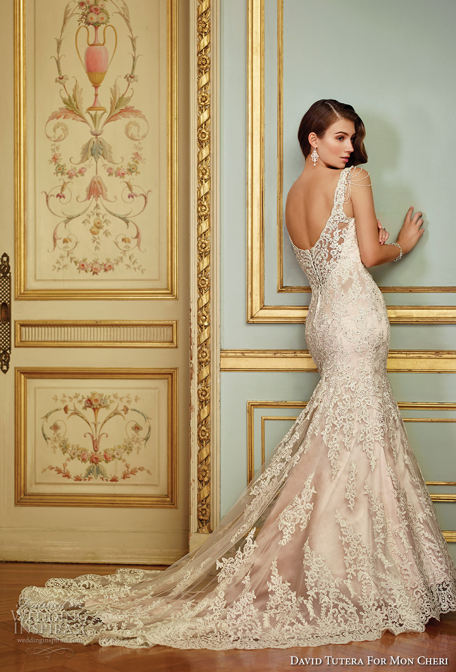 David tutera for mon cheri spring 2017 wedding dresses wedding david tutera mc spring 2017 bridal sleeveless embrodiered strap sweetheart neckline full embellishment elegant glamorous fit junglespirit Choice Image