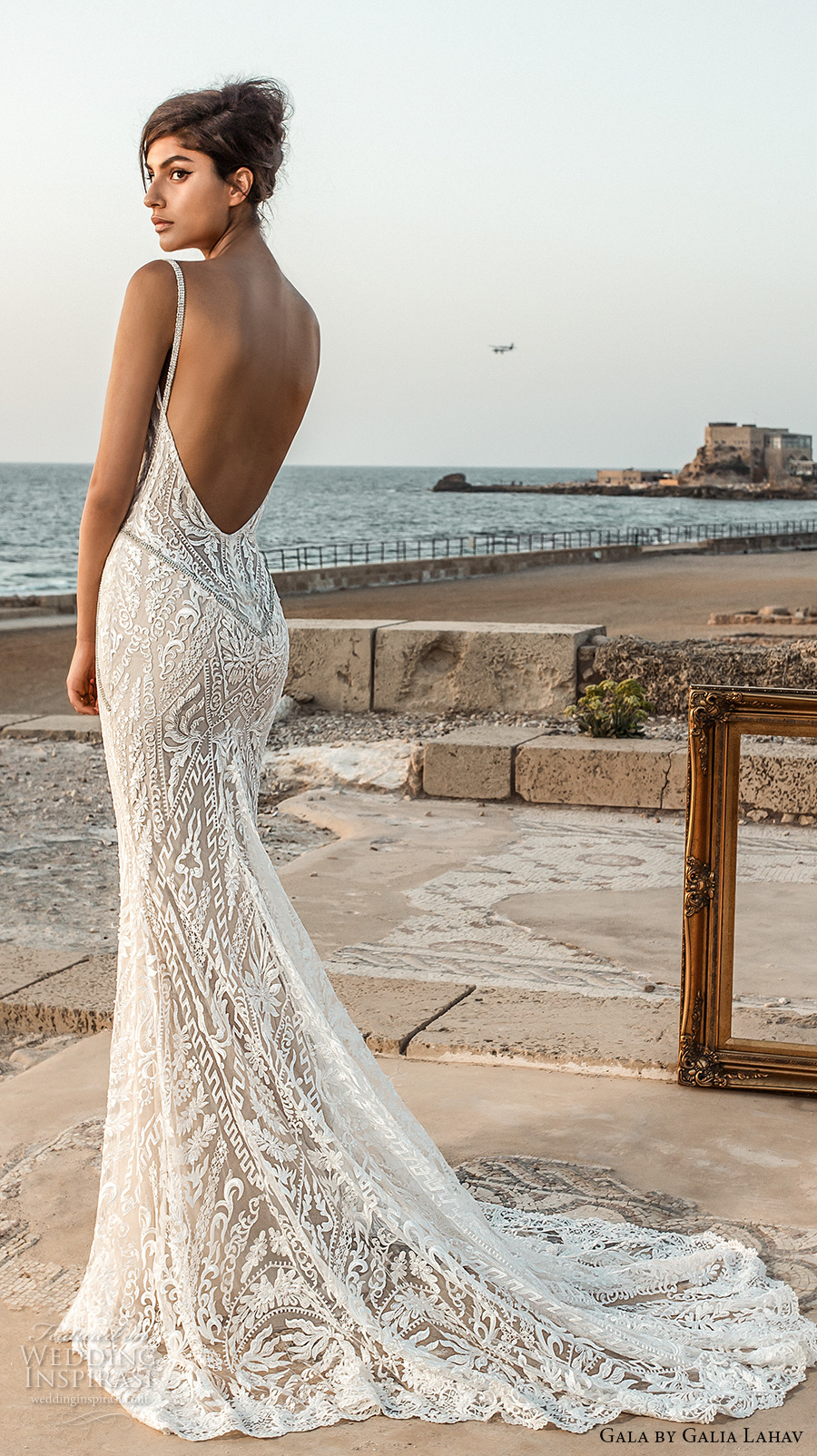 Gala by galia lahav 2017 wedding dresses bridal for Lace low back wedding dress
