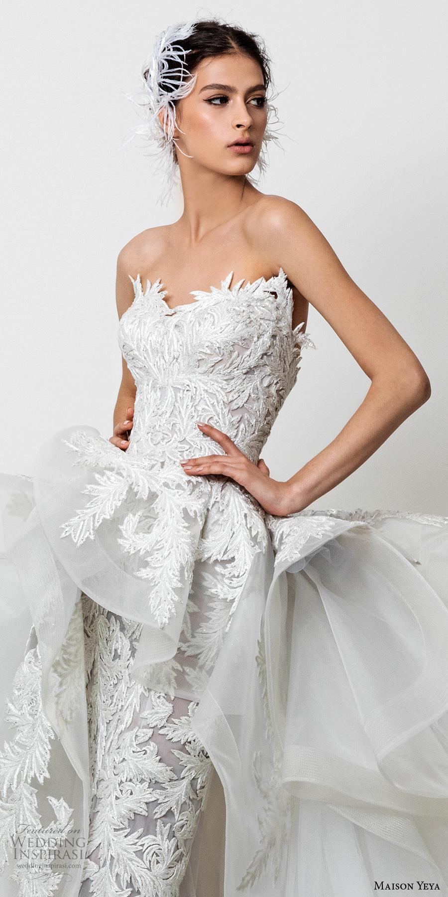 Maison Yeya 2017 Wedding Dresses Les R 233 Fugi 233 S D Amour