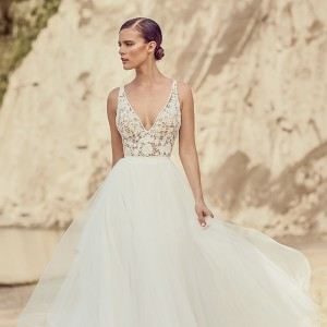 mikaella spring 2017 bridal wedding inspirasi featured dresses gowns collection