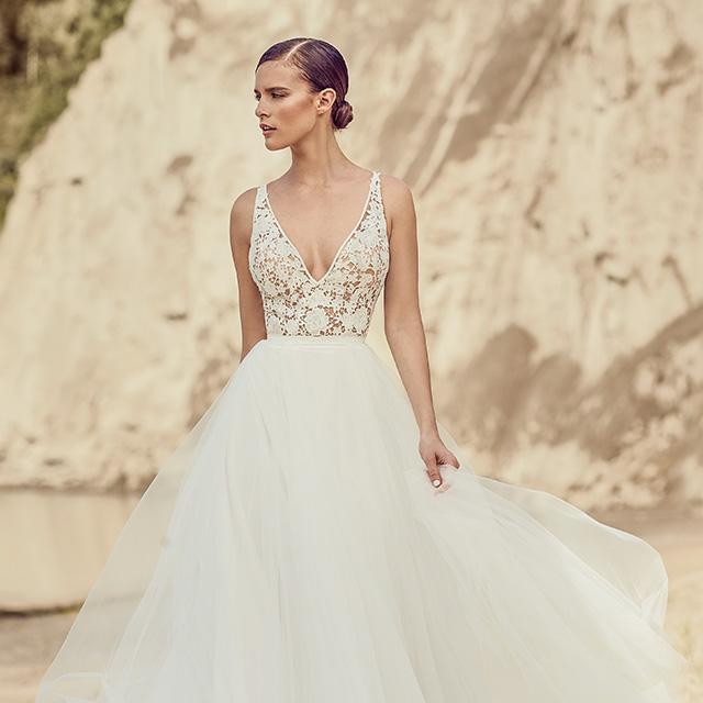 Mikaella Bridal Spring 2017 Wedding Dresses