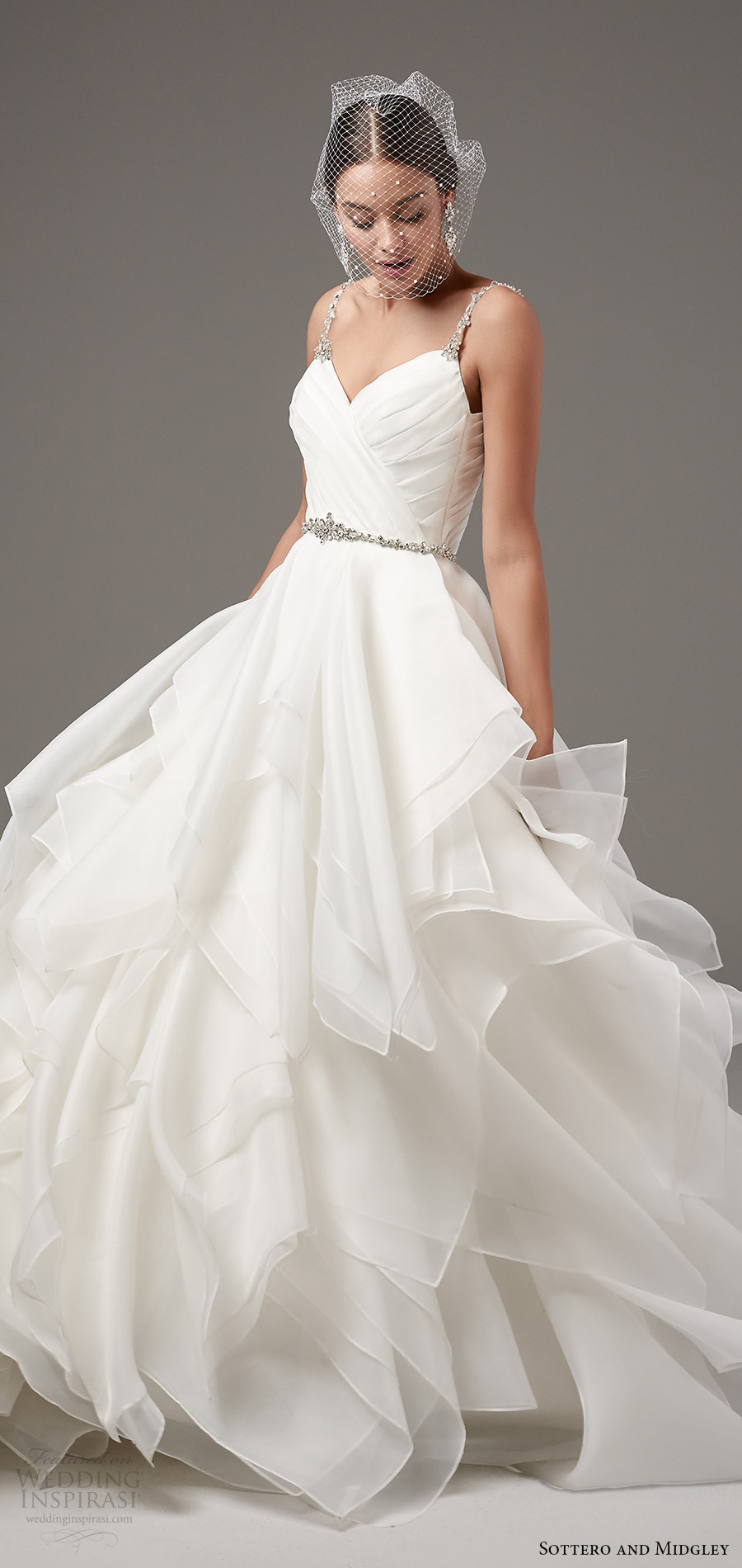 Soft Flowy Wedding Dresses
