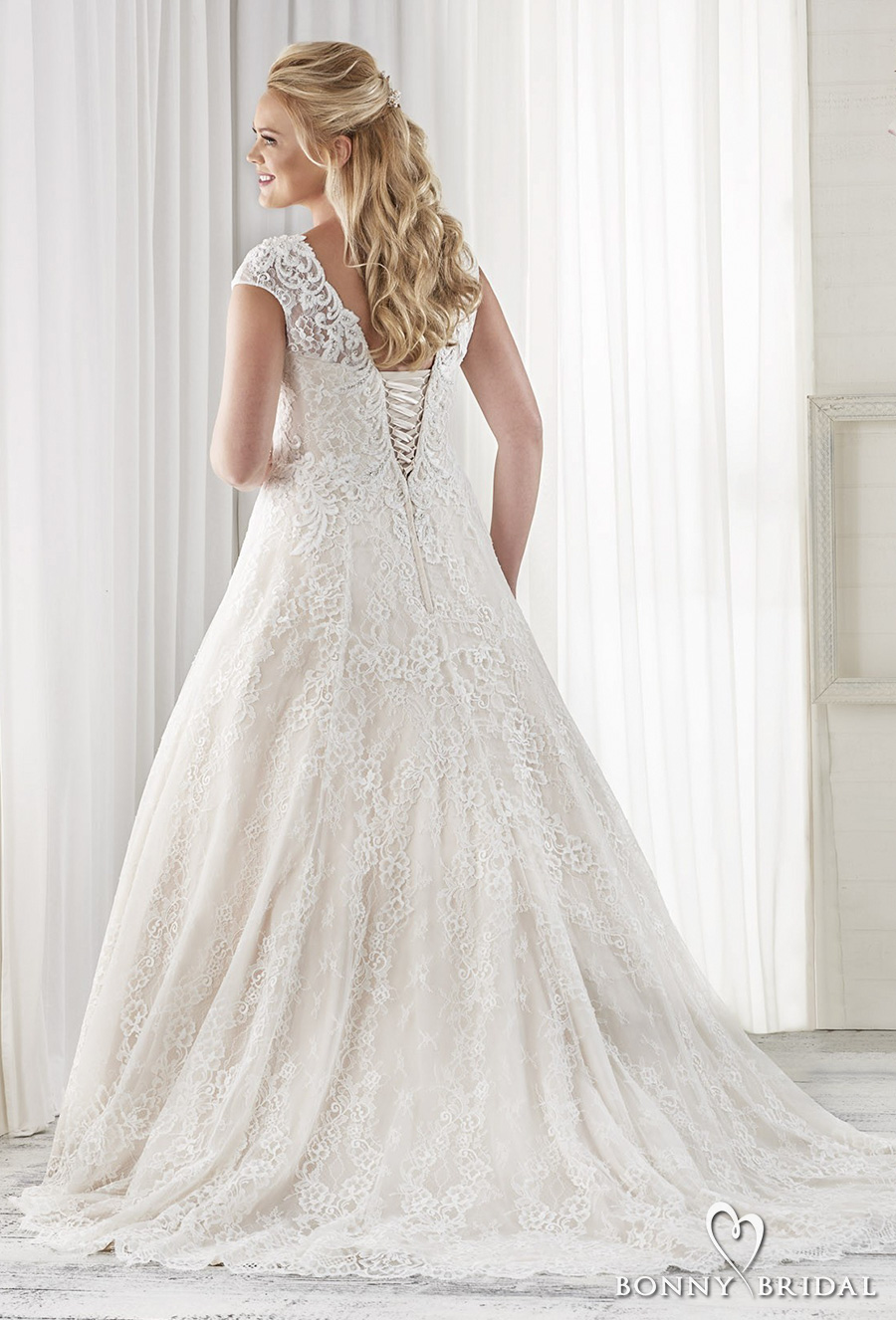 Bonny bridal wedding dresses unforgettable styles for for Corset for wedding dress plus size