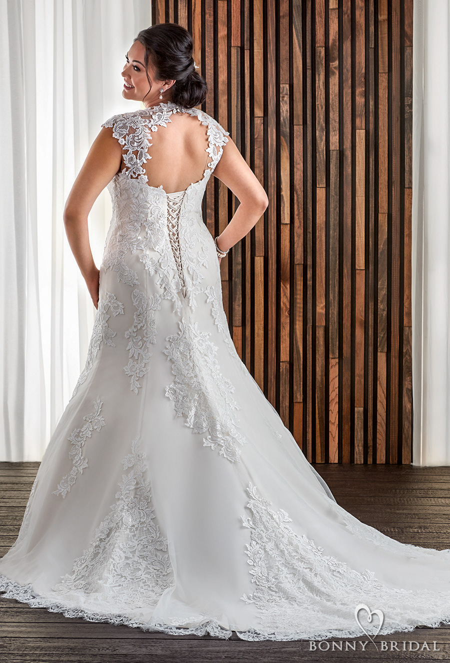 Bonny bridal wedding dresses unforgettable styles for for Wedding dress cuts