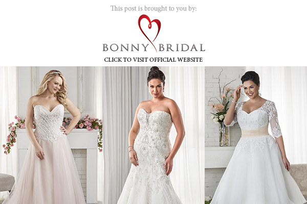 bonny bridal 2017 unforgettable plus size collection below banner