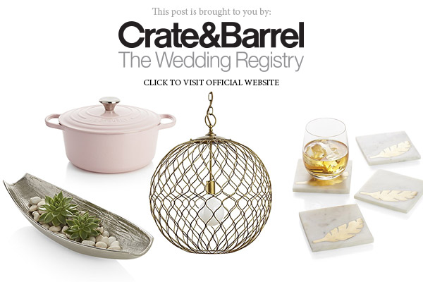 Crate Barrel Wedding Registry.Crate And Barrel The Wedding Registry Bridal Gift