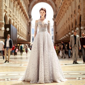gemy maalouf 2017 bridal wedding inspirasi featured dresses gowns collection