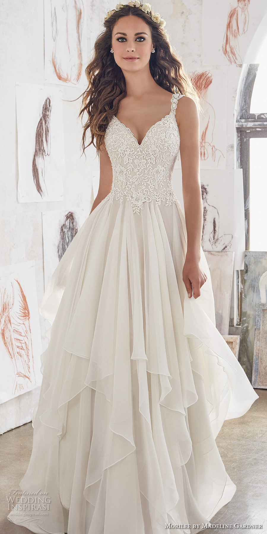 Morilee by madeline gardner spring 2017 wedding dresses for When to buy wedding dress