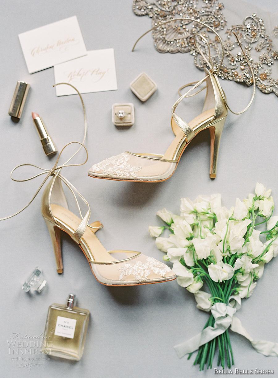 bella belle shoes bridal wedding shoes strap high heels (2)