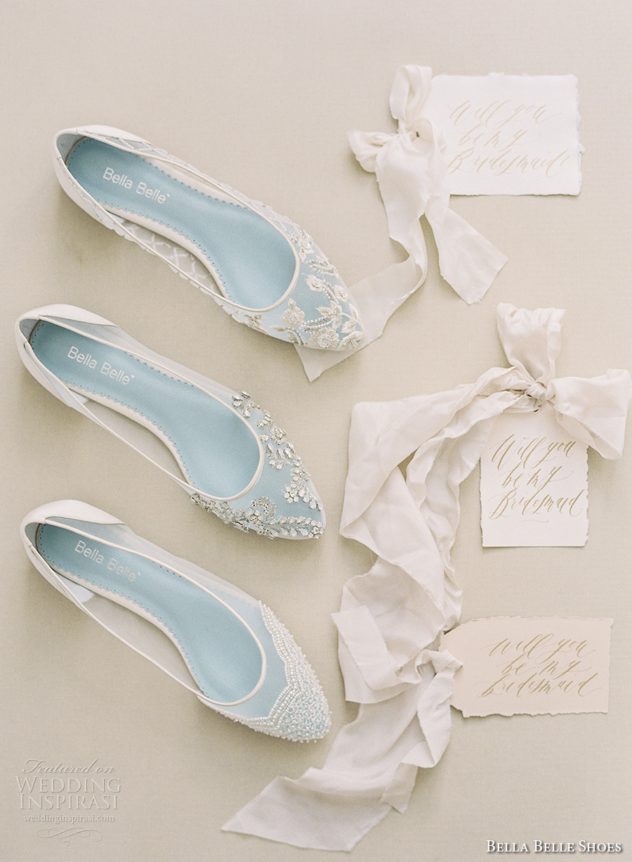 bella belle shoes bridal wedding shoes white shoes sheer embroidered lace crystals beaded  flat shoes flats (4)