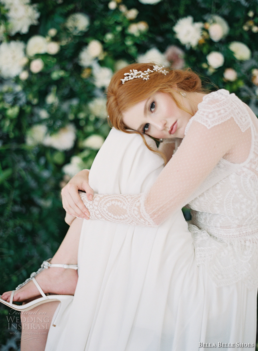 bella belle shoes wedding bridal shoes t strap high heel shoes