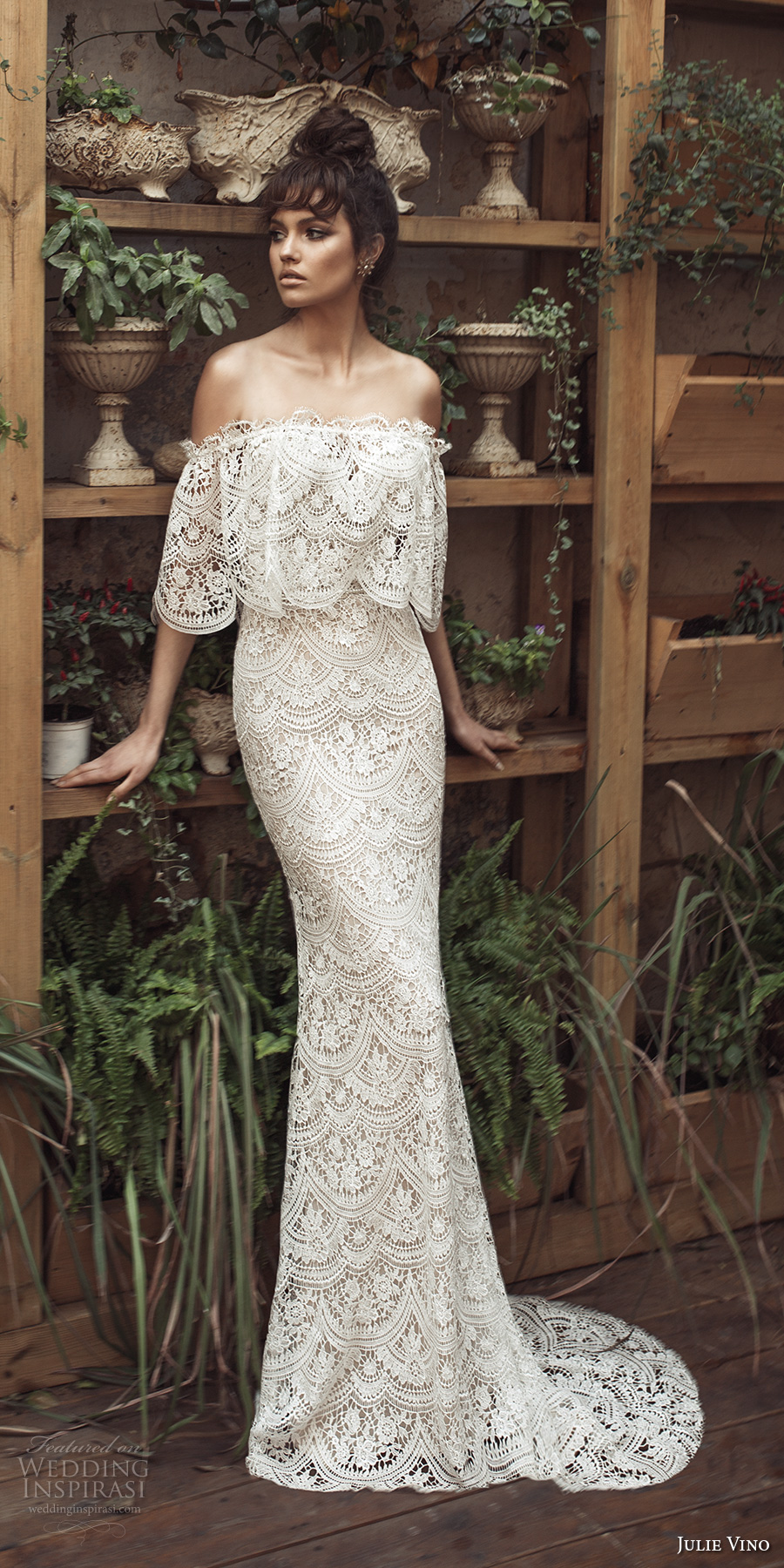 Famous Wedding Dress S London : Romanzo by julie vino wedding dresses inspirasi