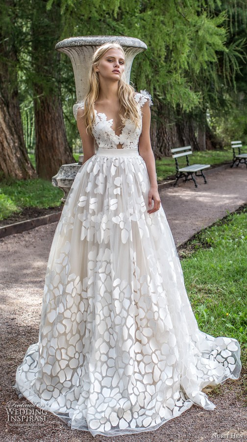 Nurit Hen Ivory and White 2017 Wedding Dresses