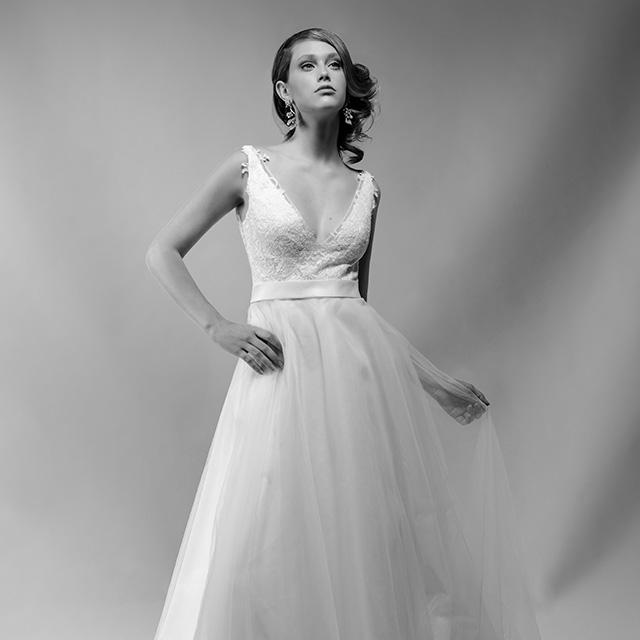 Sabrina Wedding Dress 89 Simple