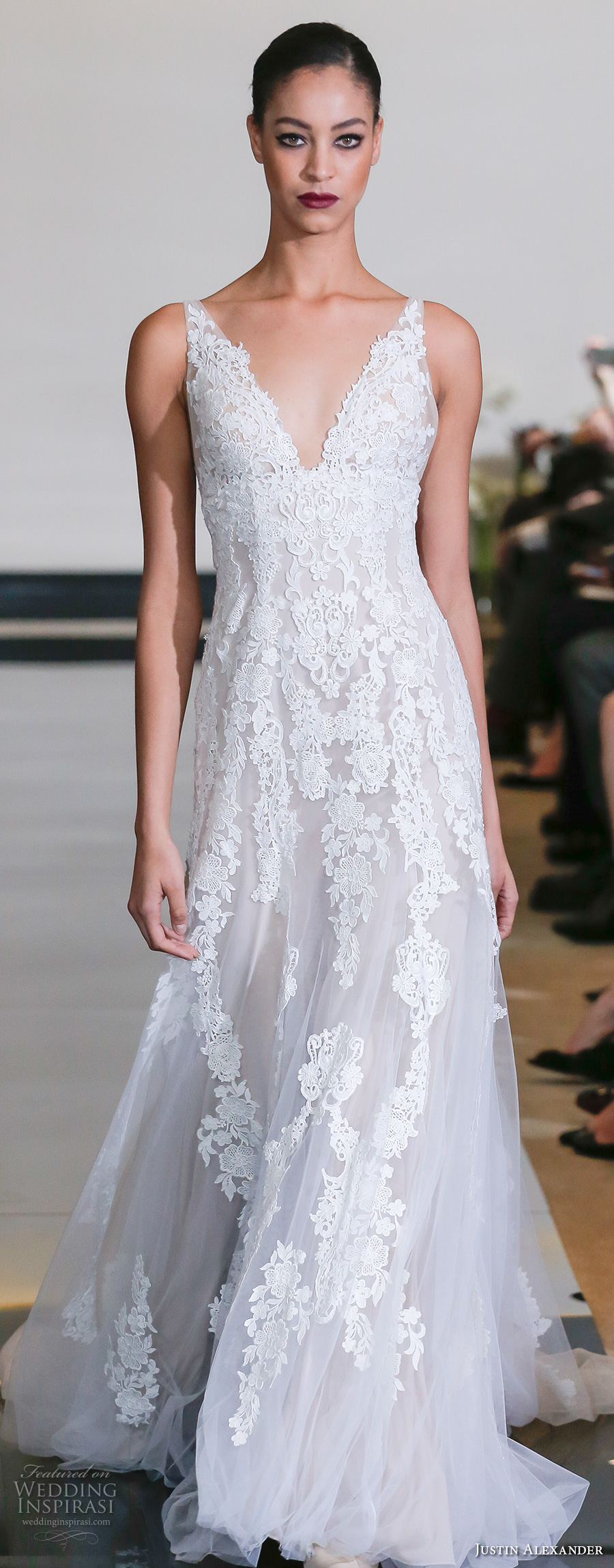 Justin Alexander Spring 2018 Wedding Dresses — New York ...