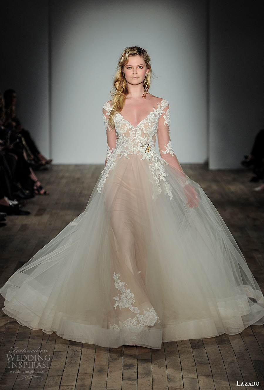 Lazaro Fall 2017 Wedding Dresses — New York Bridal Fashion Week ...