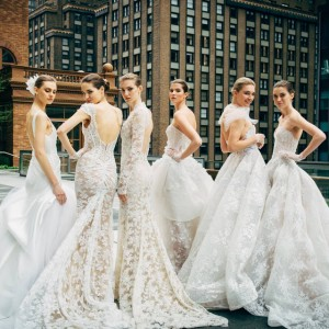 monique lhuillier spring 2018 bridal wedding inspirasi featured dresses gowns collection